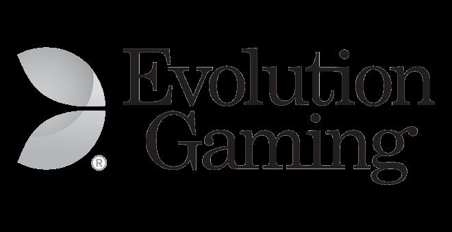 evolution gaming logo black grey